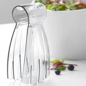 Szare szczypce do sałatki Steel Function Salad Hand