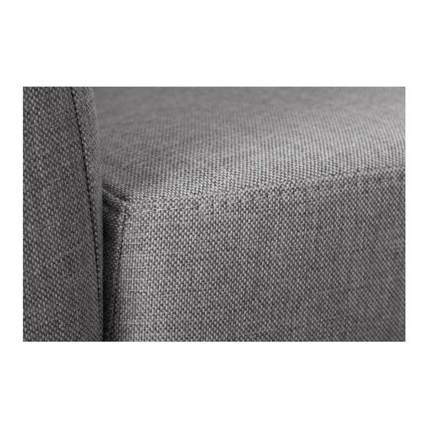 Sofa trzyosobowa z oparciem po lewej stronie Viotti Light Grey/Anthracite