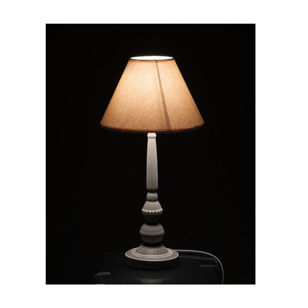 Lampa stołowa Classic Beige and Grey