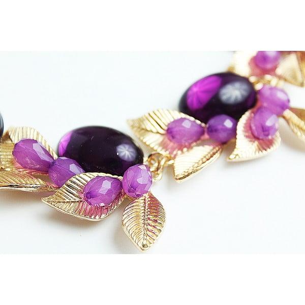 Naszyjnik Violet Flower