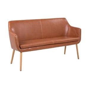 Brązowa sofa Actona Nora