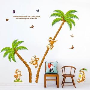 Naklejka ścienna Monkey Island, 60x90 cm