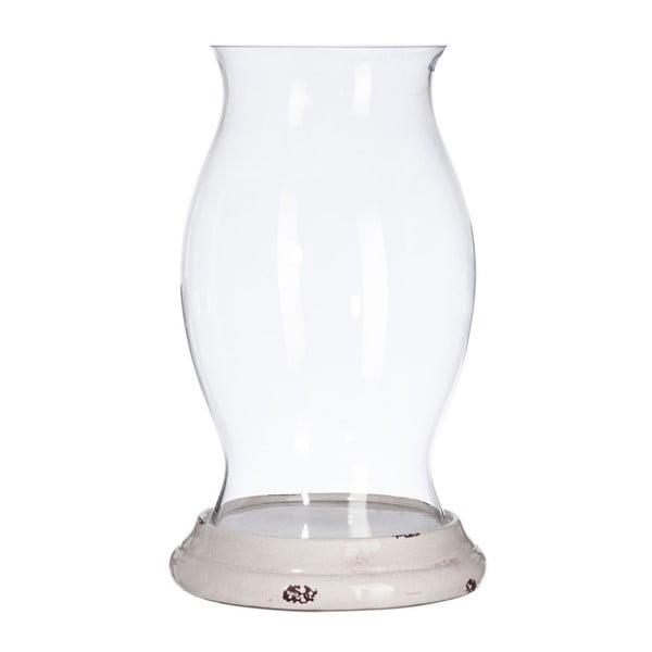 Świecznik Clear Glass, 28x28x49 cm