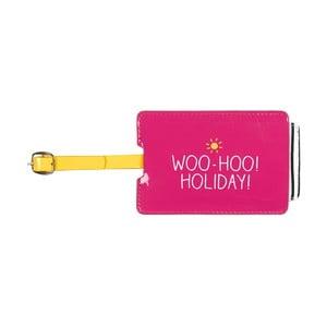 Etykieta imienna na walizkę Happy Jackson Woo Hoo
