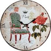 Zegar ścienny Post Paris