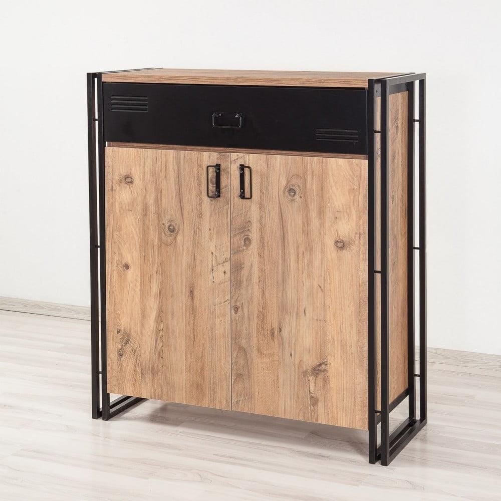 Szafa z półkami Esme, wys. 120 cm