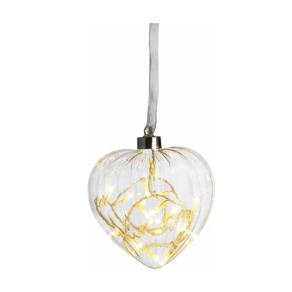Świecące serce Heart, 13 cm