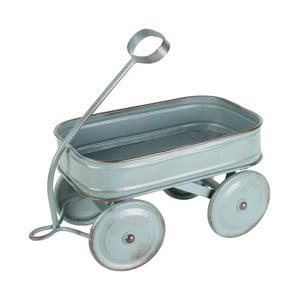 Dekoracyjny metalowy wóz Charrette