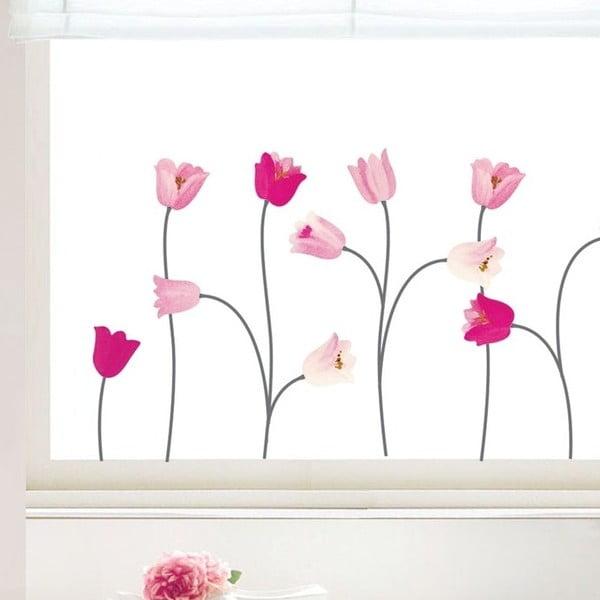 Naklejka Ambiance Pink Poppy