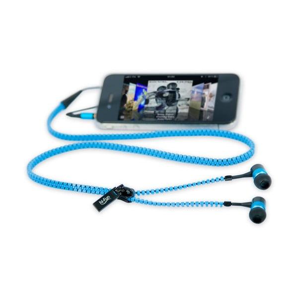 Słuchawki hi-Zip, niebieskie
