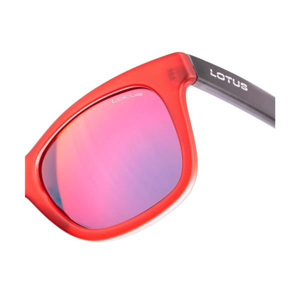 Damskie okulary przeciwsłoneczne Lotus L754014 Matt Red