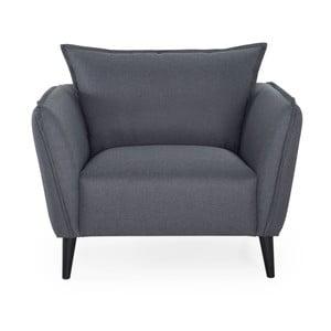 Ciemnoszary fotel Softnord Malmo