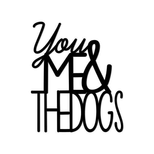 Naklejka dekoracyjna 3D You Me Dog