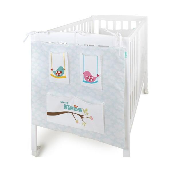 Organizer na dziecięce łóżeczko Little Birds