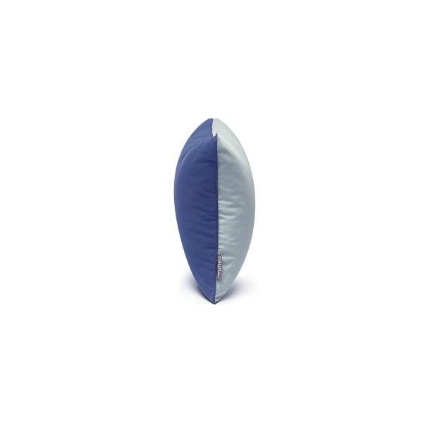 Szaro-niebieska poszewka na poduszkę Mumla, 40x40cm