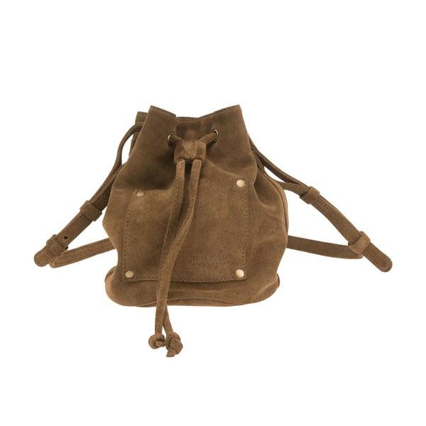 Skórzany plecak Knapsack, brązowy