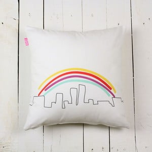 Poszewka na poduszkę My city, 40 x 40 cm