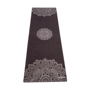 Czarna   mata do jogi Yoga Design Lab Travel Mat Mandala Black, 900 g