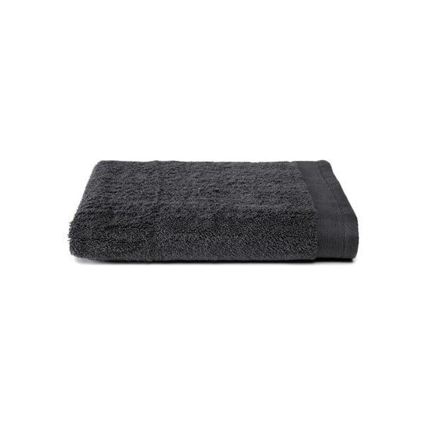 Ciemnoszary ręcznik Ekkelboom, 70x140 cm