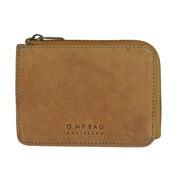 Portfel O My Bag Zip Coin, camel