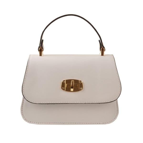 Skórzana torebka Flaux, biała