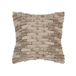 Beżowoszara poduszka ZicZac Cobble Stone, 45x45 cm