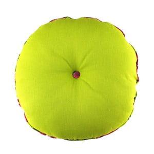 Limonkowa poduszka Ragged Rose Rolly