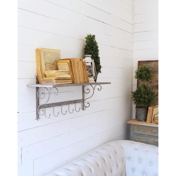 Półka naścienna Wall Antique Grey, 83 cm