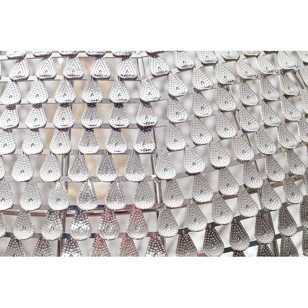 Żyrandol Waves Silver, 40 cm