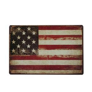 Tablica USA Flag, 20x30 cm