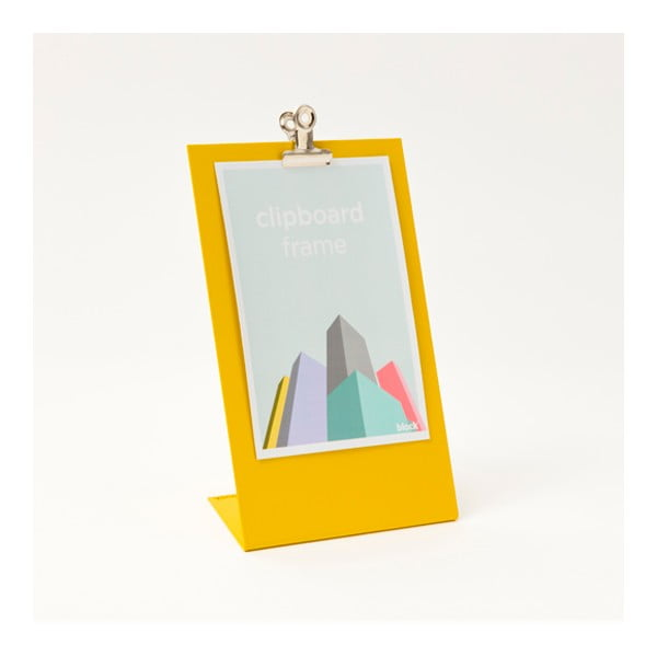 Żółta ramka na zdjęcia Clipboard Medium