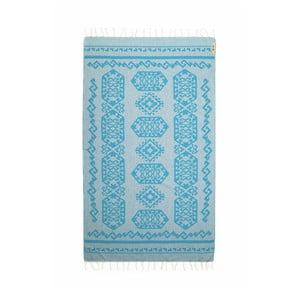Ręcznik hammam Ottoman Light Blue, 95x175 cm