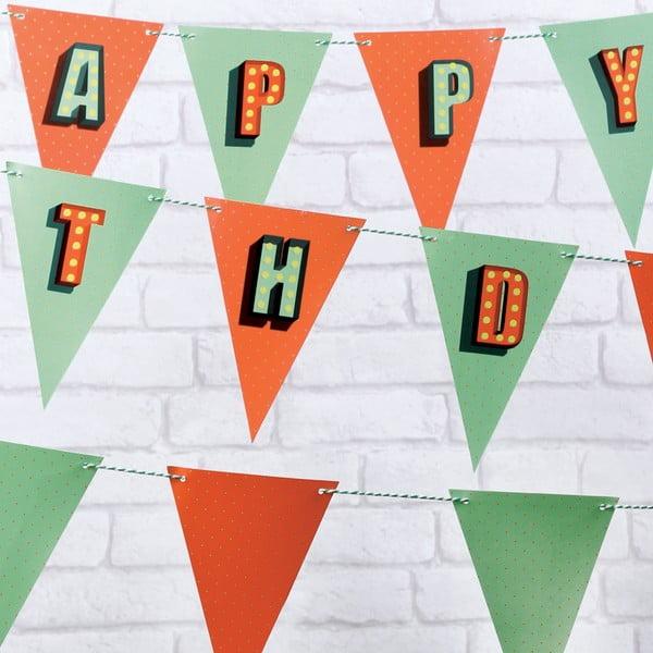 Flagietki imprezowe Birthday