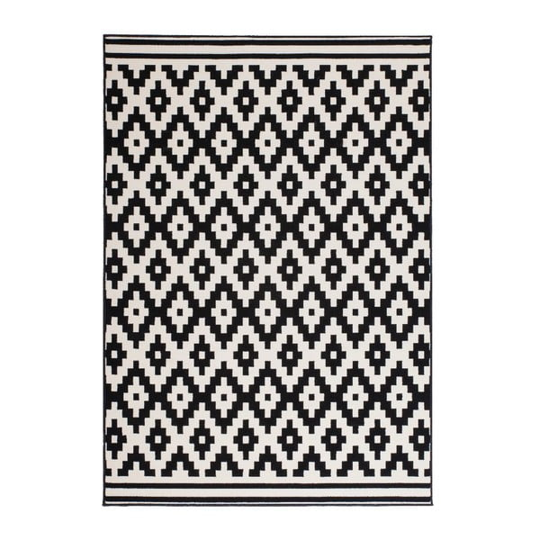 Dywan Stella 300 Black White, 80x150 cm