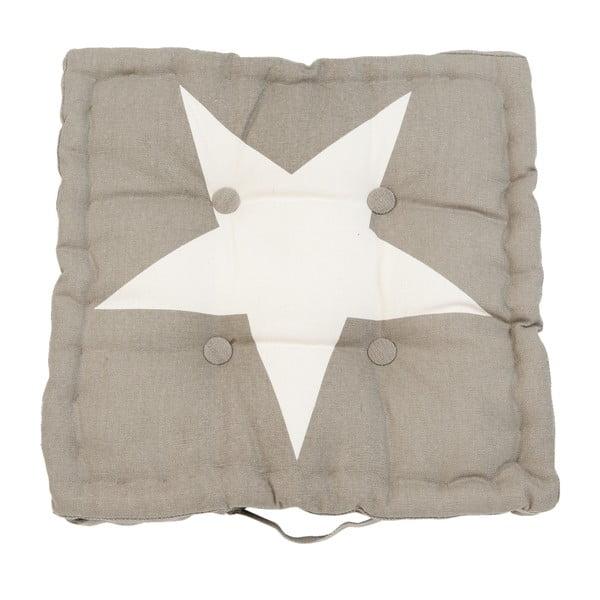 Poduszka Clayre Star, 40x40 cm, brązowa