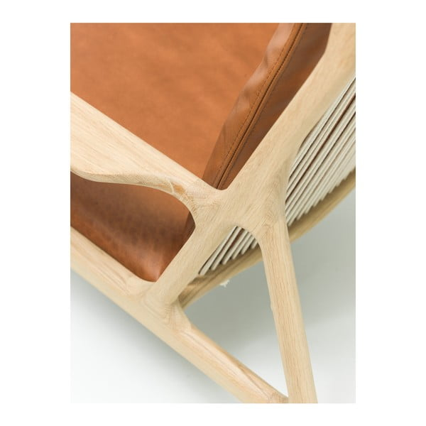 Fotel Dedo Gazzda, brązowy