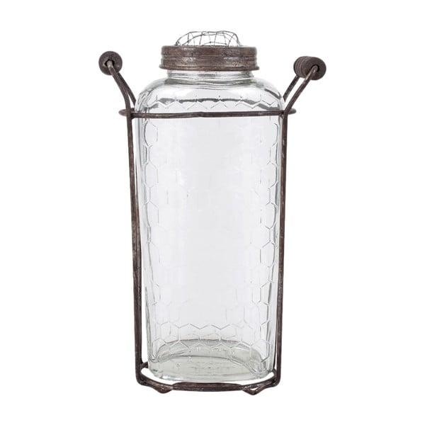 Szklany wazon No1