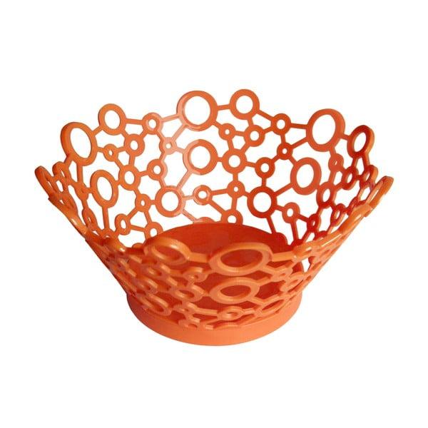 Koszyk ForMe Orange, 26x13 cm