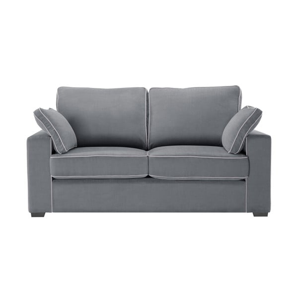 Sofa dwuosobowa Jalouse Maison Serena, szara