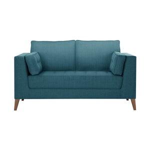 Turkusowa sofa 2-osobowa Stella Cadente Maison Atalaia Turquoise