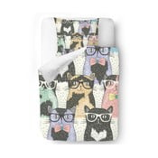 Pościel Cats with Glasses, 140x200 cm