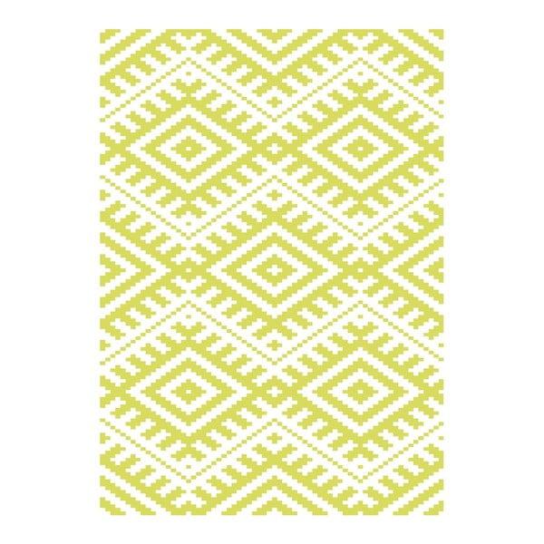 Plakat Aztec Lime, A3