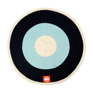 Dywan Round Blue, 113 cm