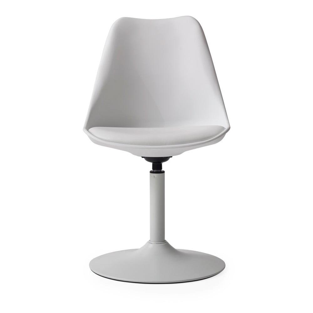 Białe krzesło z białą poduszką Tenzo Viva
