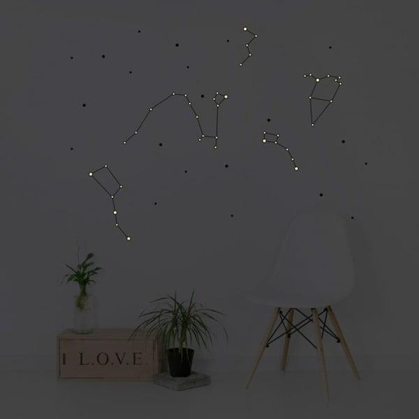 Naklejka świecąca Chispum Constellation