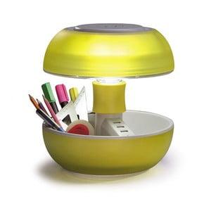 Lampa stołowa i ładowarka w jednym Joyo Light, żółta