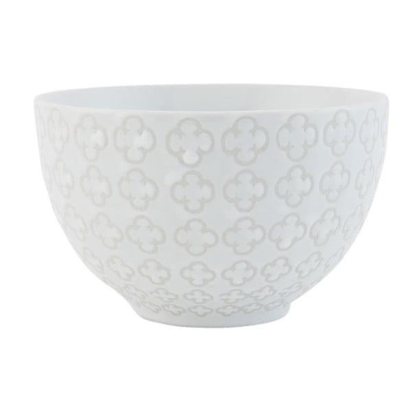 Ceramiczna miska Clayre White, 12x7 cm