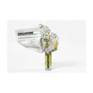 Zgnieciona mapa Palomar Singapore