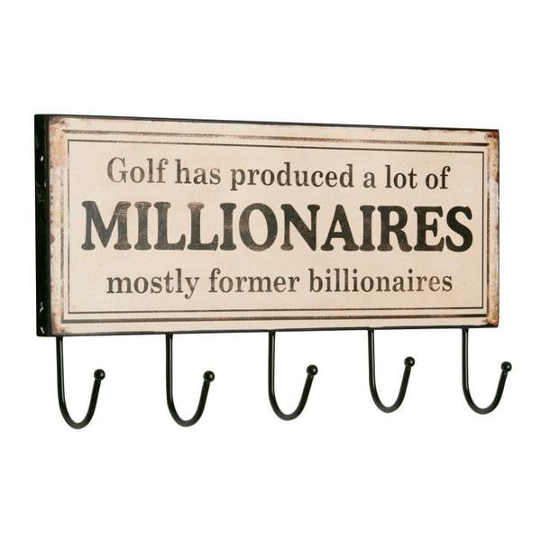 Wieszak Millionaires, 15x45x2 cm