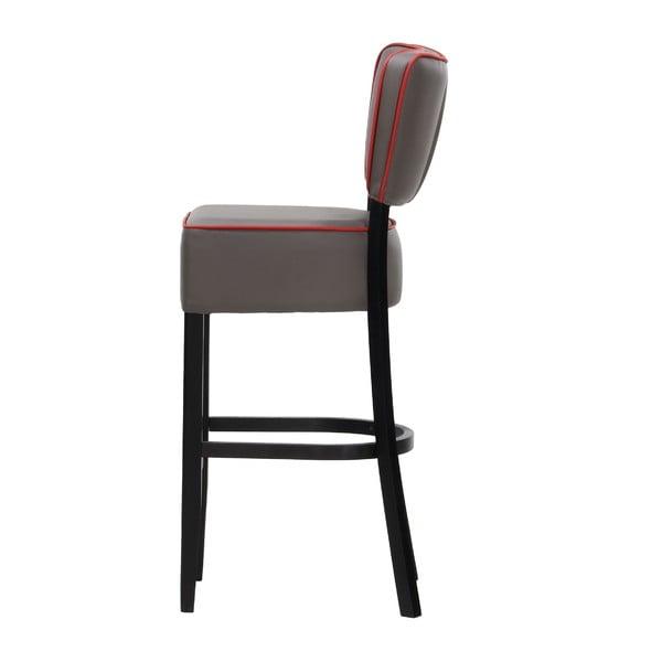 Krzesło barowe Luie Soft Grey